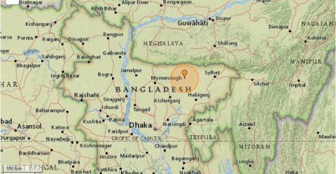 ভূমিকম্পে কাঁপল বাংলাদেশ-ভারত সীমান্ত