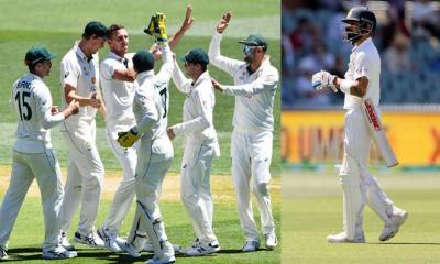 টেস্ট ক্রিকেটের ইতিহাসে সর্বনিম্ন স্কোর ভারতের; ৩৬ রানেই ইনিংস শেষ