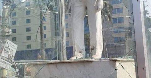 শেখ রাসেল ভাস্কর্যকে লক্ষ্য করে ইট নিক্ষেপে, আটক ১ জন