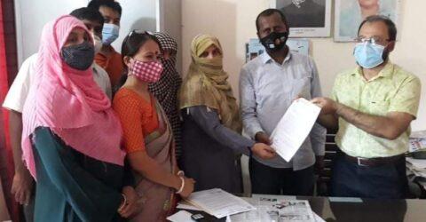 মাটিরাঙ্গায় সরকারি প্রাথমিকের  নিয়োগ বিধি-২০২১'এর সংশোধনের দাবীতে স্মারকলিপি প্রদান
